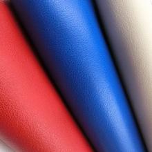 K208 1.2耐磨环保细牛皮纹PU箱包革 胎牛纹 皮革厂家