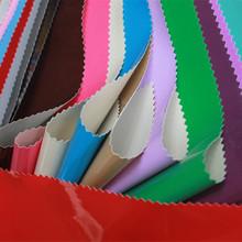 义乌厂家直销新款柔软0.3PVC镜面人造革 箱包沙发服装装饰