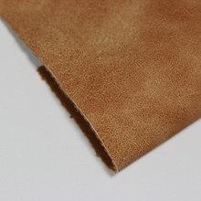 金歆尚皮革新品上市全pu复古羊巴纺棉纶1.0mm用于鞋、包等