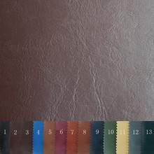义乌厂家直销新款耐磨PVC牛纹人造革 箱包包装装饰皮料面料