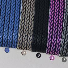 大量现货供应 编织纹PU 适用于箱包,鞋革等