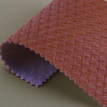 鸿辰皮革 1.1mm编织纹PVC 箱包革