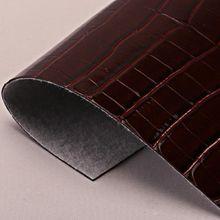 现货供应大鳄鱼纹PU革 适用于:手袋、鞋材、包装、装饰等