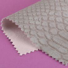 精品面料pu蛇纹起毛底1.0mm刮刀 冠顶 可用包类、鞋革等