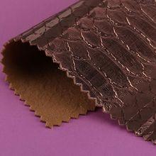 精品现货pu蛇纹仿棉绒0.9mm冠顶、刮刀、切烫可用鞋革等