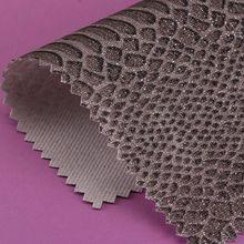精品面料pu蛇纹机织/T/C布0.5mm格利特可用鞋革等