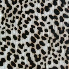 集泰皮革 现货供应印刷小豹纹 手袋箱包 餐椅网吧椅家具革