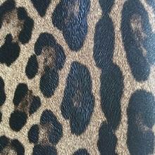 集泰皮革 现货供应印刷豹纹 手袋箱包 餐椅网吧椅家具革