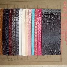 长期现货供应半PU人造革蜈蚣纹蜥蜴纹箱包手袋鞍座床垫革