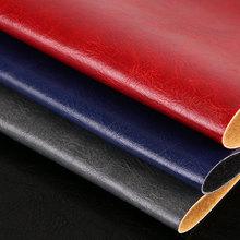 FU098 半PU油蜡皮纹仿棉绒1.0mm沙发革 餐椅革