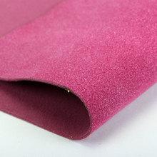 精品面料 植绒PU牛皮绒 背涂底1.5mm 适用于鞋包