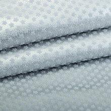 精品面料 植绒PU五角星纹仿棉绒底0.9mm 适用于鞋包