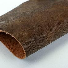 精品面料  PU 刀割纹植皮粉1.4mm 适用于鞋 包