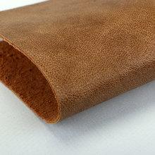 精品面料 PU 羊纹植皮粉1.4mm 适用于鞋 包