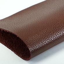 精品面料 PU 荔枝纹 植皮粉1.6mm 适用于鞋包