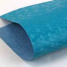 精品推荐压变PU钻石纹水刺底0.6mm用于手机皮套电子包装等
