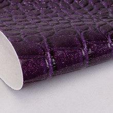 金葱粉 PVC弹力起毛底鳄鱼纹1.2mm用于手袋,钱包书包