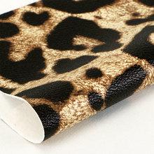 现货耐刮PVC 豹纹针织弹力底1.1mm 适用于箱包手袋鞋革