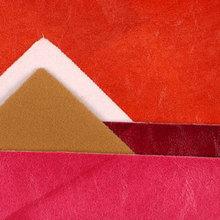 大热卖半pu油蜡皮纹仿棉绒底1.0mm适用于装饰软包家具沙发