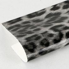 必买好货淋膜PU豹纹仿棉绒底1.2mm适用于箱包鞋材等