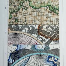 数码图案新,自创图案多 PVC地图纹 用于箱包,鞋,装饰等