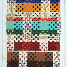 数码图案新,自创图案多 PVC艺术印花 用于箱包,鞋,装饰等