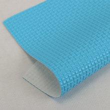 火卖精品 PVC方格纹 弹力起毛底0.9mm适用于:箱包手袋