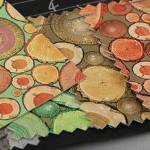 淋漆 木纹 PU革0.6mm 针织起毛底 适用于鞋材等