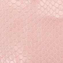 蛇纹 PU革 0.7mm 针织起毛底 适用于鞋材等