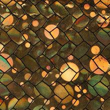 贴膜幻彩 竹节纹 PU革0.6mm 针织起毛底 适用于鞋材等