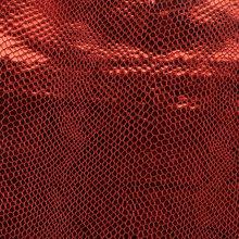 金属 蜥蜴纹 PU革0.6mm 针织起毛底 适用于鞋材等