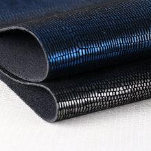 专业植绒 蜥蜴纹 仿棉绒底 1.2mm 适用于箱包,鞋革等