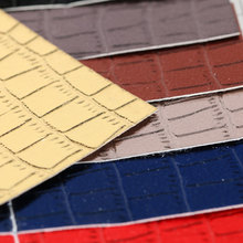 PVC 大鳄鱼纹 磅布底0.5mm用于:箱包手袋,皮具用料