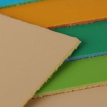 精品精选彩边PVC 亮光138纹麂皮绒1.7mm用于箱包手袋