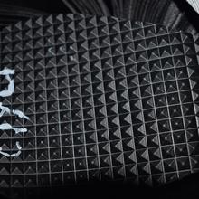 现货供应厂家直销大钻石纹皮革 黑色PVC皮革面料牛津底