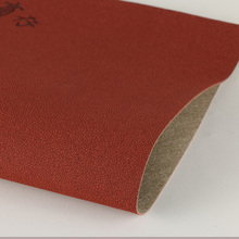 专业压变色革 pu石头纹渗透底0.7mm用于电子包装本册