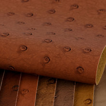 大颖产品新上线 仿古PVC 鸵鸟纹 单针弹力布底0.8mm 用于箱包手袋等