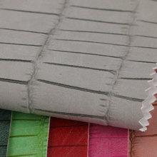 大颖产品新上线 仿古羊巴PVC 竹节纹 弹力布 1.1mm 用于箱包手袋等