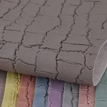 东风皮塑 PVC石头纹 针织弹力起毛底1.2mm 用于箱包手袋等