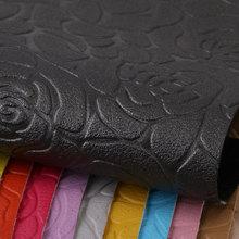 专业PVC  玫瑰花纹,针织弹力起毛底1.0mm 适用于箱包手袋,化妆包等