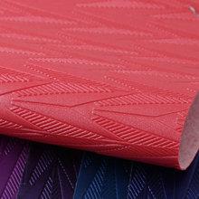 专业经营PVC几何纹 针织弹力起毛1.0mm适用箱包手袋、化妆包等