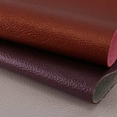 PVC 珠光荔枝纹 麂皮绒底1.0mm 适用于家具沙发,装饰软包等