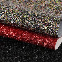 创丰皮革 格利特PU 珠片 机织TC底0.8mm 用于装饰,鞋革,箱包手袋等