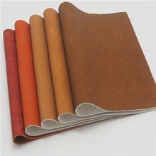 安利环保PU革 辊涂肤感印刷 特色皮纹  专业箱包 手袋面料