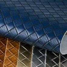 PVC喷涂编织纹 仿棉绒底1.2mm 适用于箱包手袋,鞋革,电子包装革