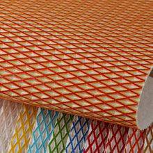 PVC,擦色 网格纹 仿棉绒底1.4mm 适用于箱包手袋,鞋革,电子包装革