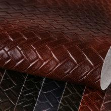 鑫茂盛 PVC擦色喷涂 编织纹仿棉绒底 1.3mm 可用于;鞋革 箱包手袋 电子包装等