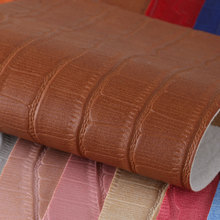 PVC喷涂.擦色 鳄鱼纹 仿棉绒底1.2mm 适用于箱包手袋,鞋革,电子包装革