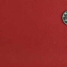 现货供应PVC牙签纹双针弹力布1.2mm 金属色/冠色 适用于:箱包手袋