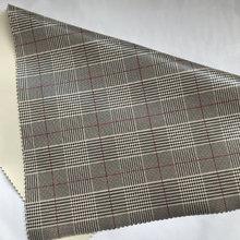 1.0厚 针织底布贴格子纹 适用于服装